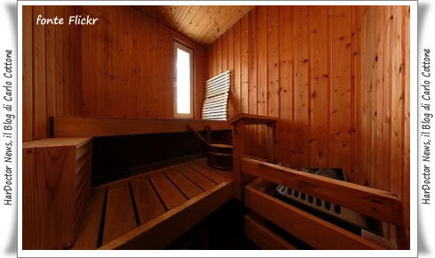 Sauna produce benefici come lo sport | HarDoctor News, il