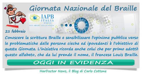 Giornata Nazionale del Braille