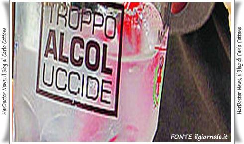 Troppo alcol uccide
