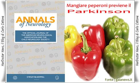 Peperoni e Parkinson