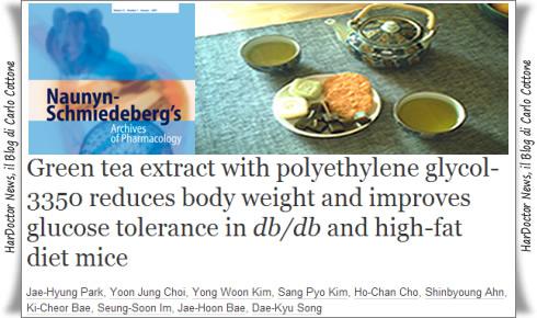 Tè verde e perdita di peso