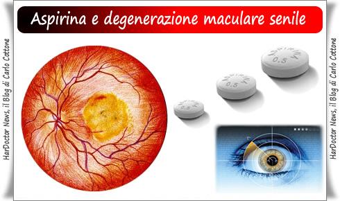 Aspirina e degenerazione maculare