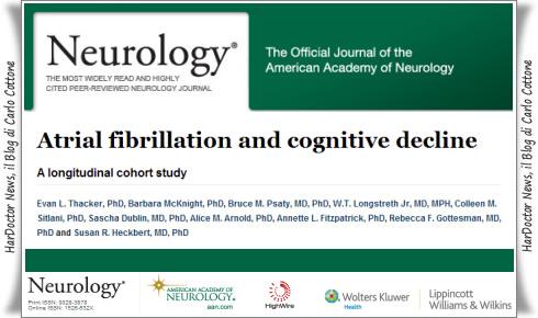 Fibrillazione atriale e declino cognitivo