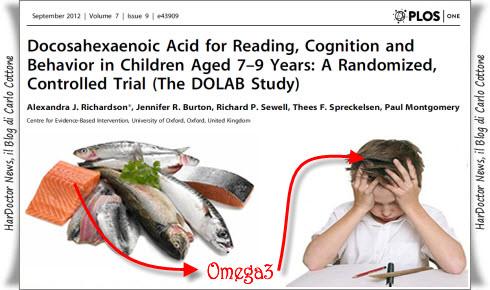 omega3 e concentrazione