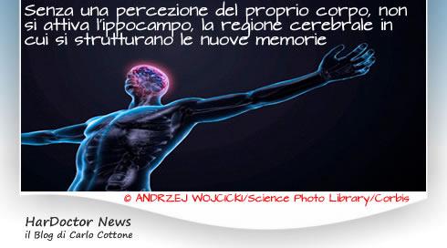 Percezione corporea e memoria