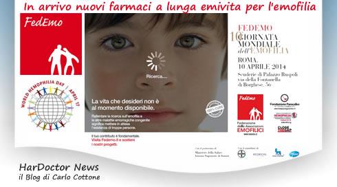 Nuovi farmaci long-acting per l'emofilia