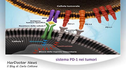 sistema PD-1 nei tumori