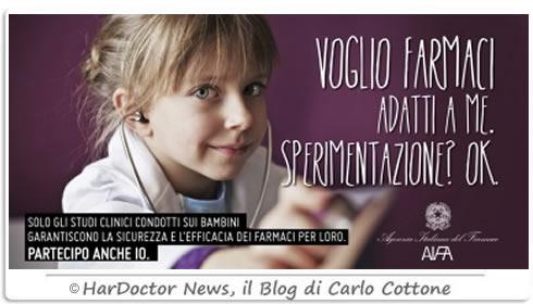 Sperimentazione farmaci nei bambini