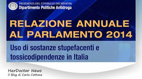 Rel. annuale al Parlamento 2014