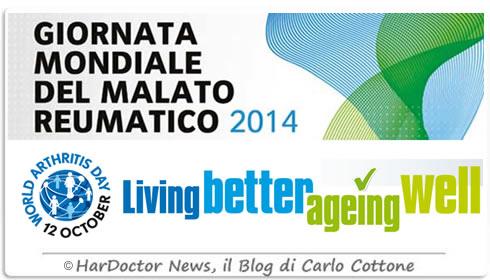 Giornata Mondiale del malato reumatico 2014