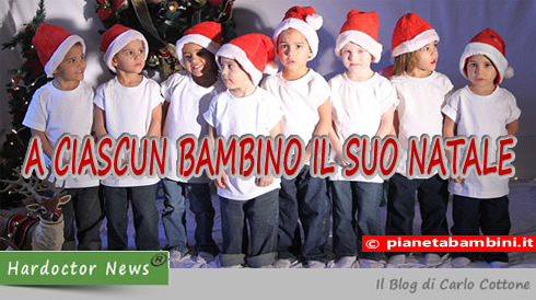 A ciascun bambino il suo Natale