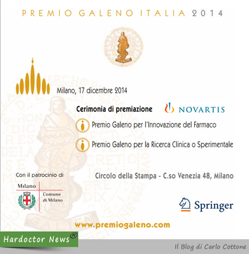 Premio Galeno Italia 2014