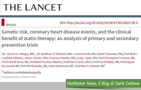 Statine e rischio coronarico