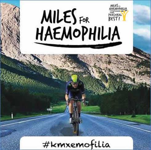 Miles for haemophilia #kmxemofilia
