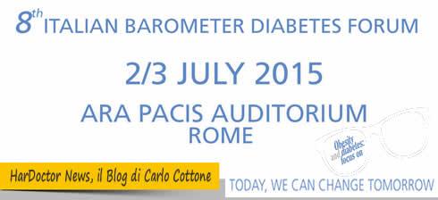 8th italian barometer diabetes forum