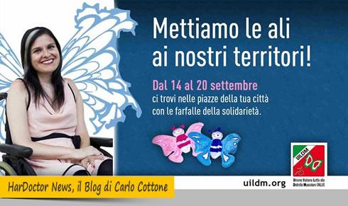 Settimana dell'Unione Italiana Lotta alla Distrofia Muscolare