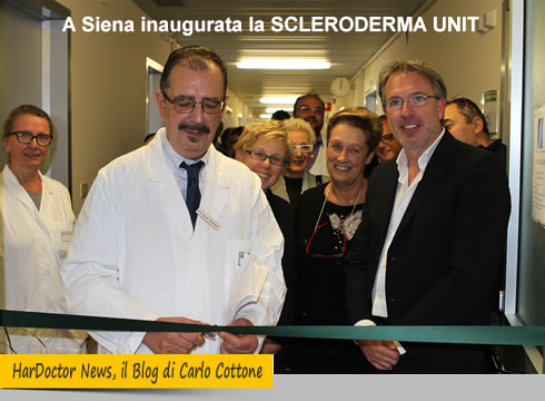 A Siena inaugurata la SCLERODERMA UNIT
