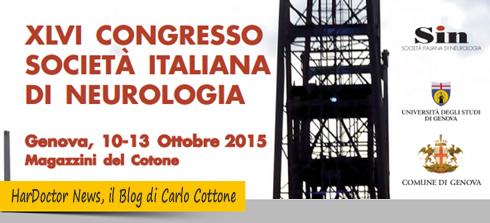 Congresso Nazionale della Società Italiana di Neurologia 2015
