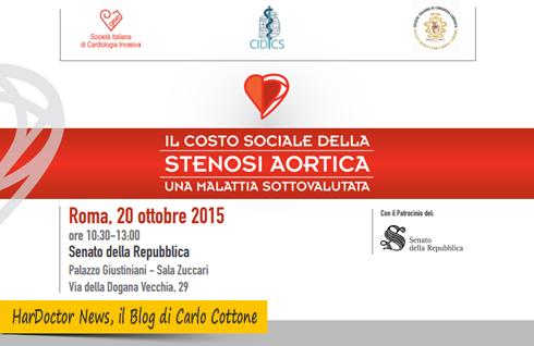 Il costo sociale della stenosi aortica