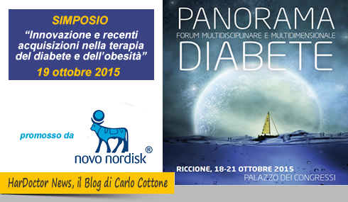 Panorama Diabete, simposio Novo Nordisk