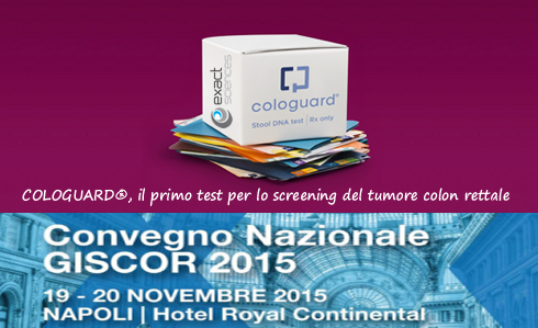 COLOGUARD, il primo test per lo screening del tumore colon rettale