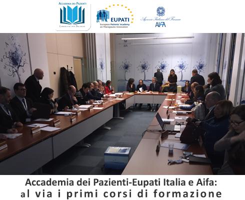 Accademia dei Pazienti-Eupati Italia e Aifa