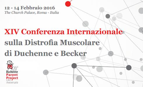 XIV Conferenza Internazionale sulla distrofia muscolare di Duchenne e Becker