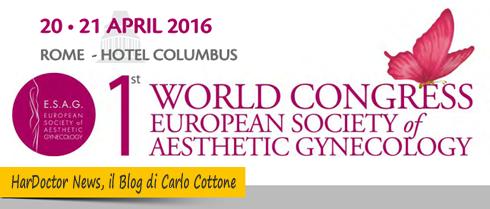 Congresso Internazionale di Estetica Ginecologica ESAG 2016