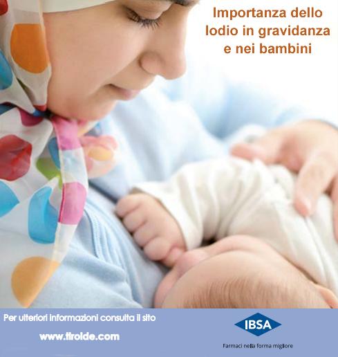 Importanza dello iodio in gravidanza e nei bambini