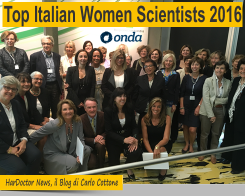 Top Italian Women Scientists 2016