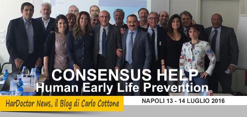 Consensus HELP, Napoli 13 e 14 luglio 2016