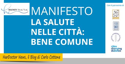 Manifesto Salute nelle città, bene comune