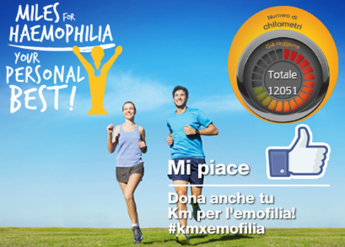 Miles for Haemophilia - your personal best