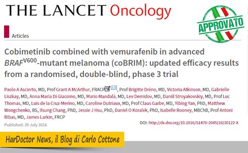 melanoma-combinazione-di-cobimetinib-e-vemurafenib-approvata-in-italia