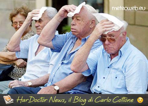 Estate e caldo: i consigli della SIN per gli anziani e i pazienti con demenza
