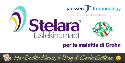 Ustekinumab efficace e sicuro nella colite ulcerosa