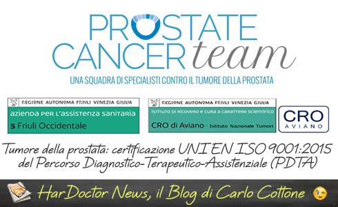 percorso condiviso mmg tumore prostata