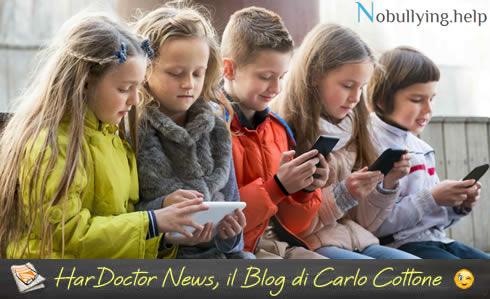 Appello dei pediatri di famiglia per una maggiore cautela nell'utilizzo di smartphone, tablet, computer e playstation