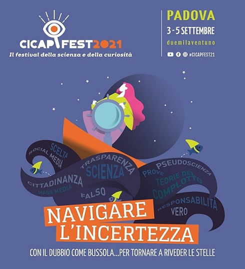 CICAP FEST 2021, il Festival della scienza e della curiosità